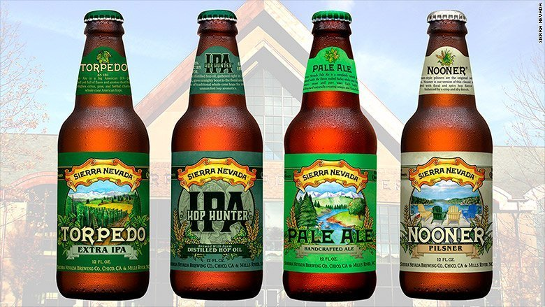 Sierra Nevada beer issues 36-state recall over chipped glass