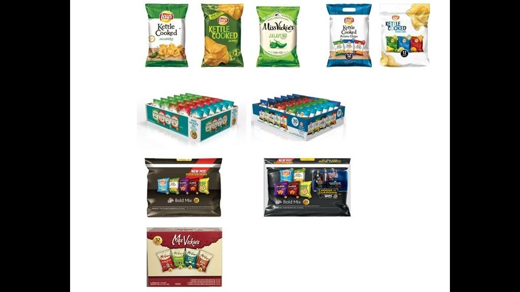 Frito-Lay recalls chips