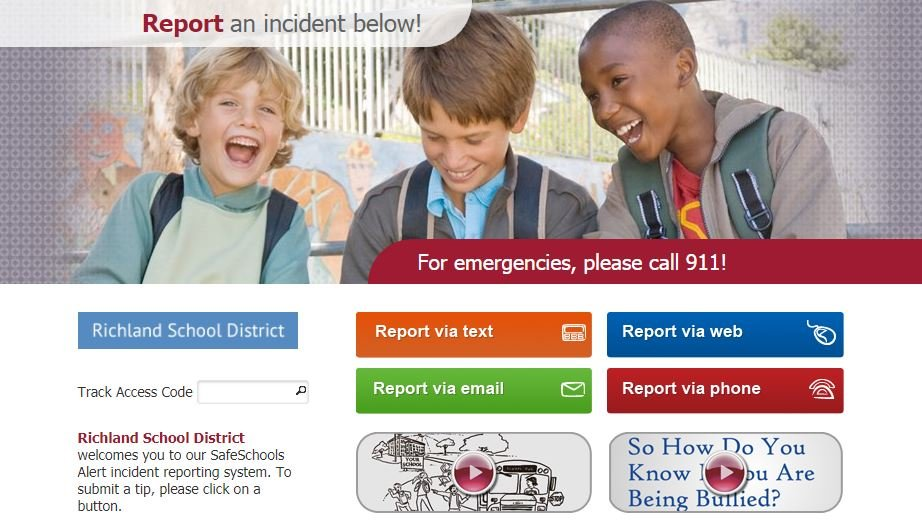 Threat reporting system launches at Richland schools