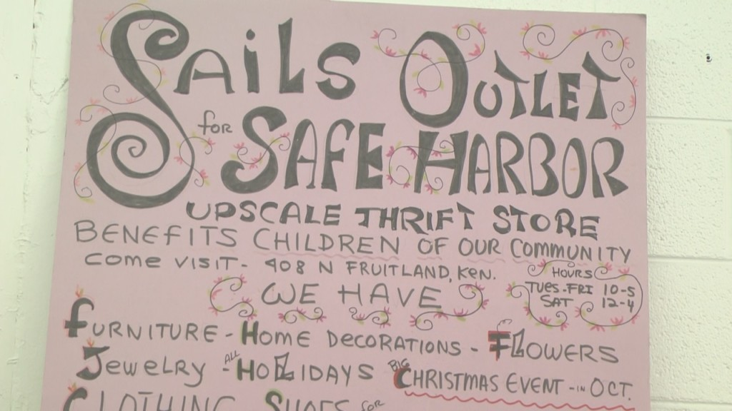 Thrift store and non-profit continues fight against homelessness