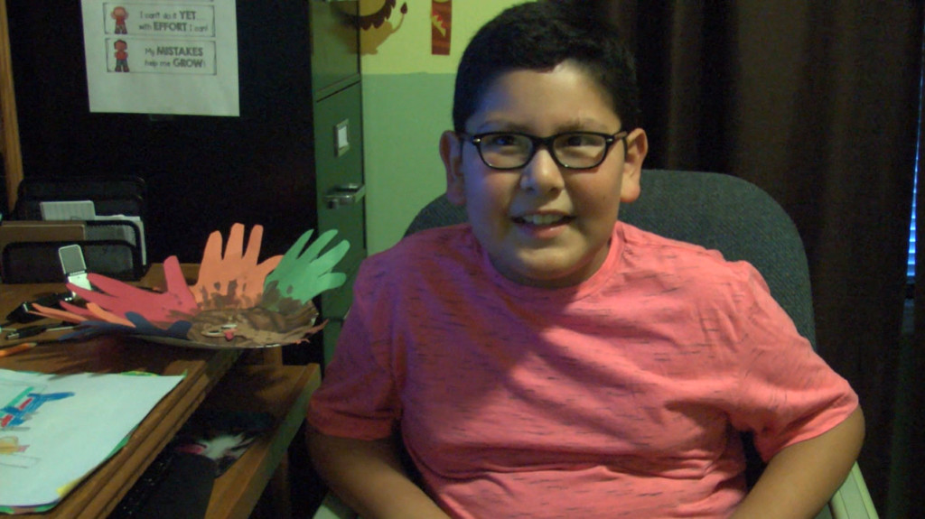 Local family sees great progress in autistic son's learning after switching to online school