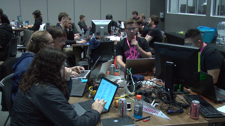 Local college students participate in Department of Energy's CyberForce Competition
