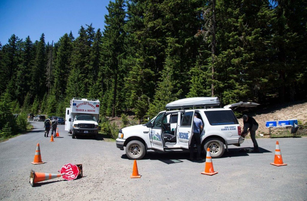 Search amplifies in forest west of Naches for 20-year-old missing since Friday