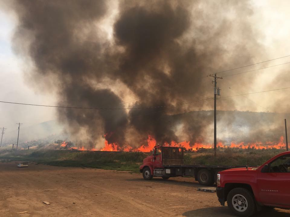 UPDATE: Selah fire 30% contained, at least 2,900 acres burned