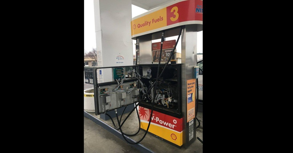 Credit card skimmer found at gas station in Richland