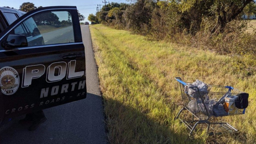 Police face backlash for arresting man caught with Walmart shopping cart