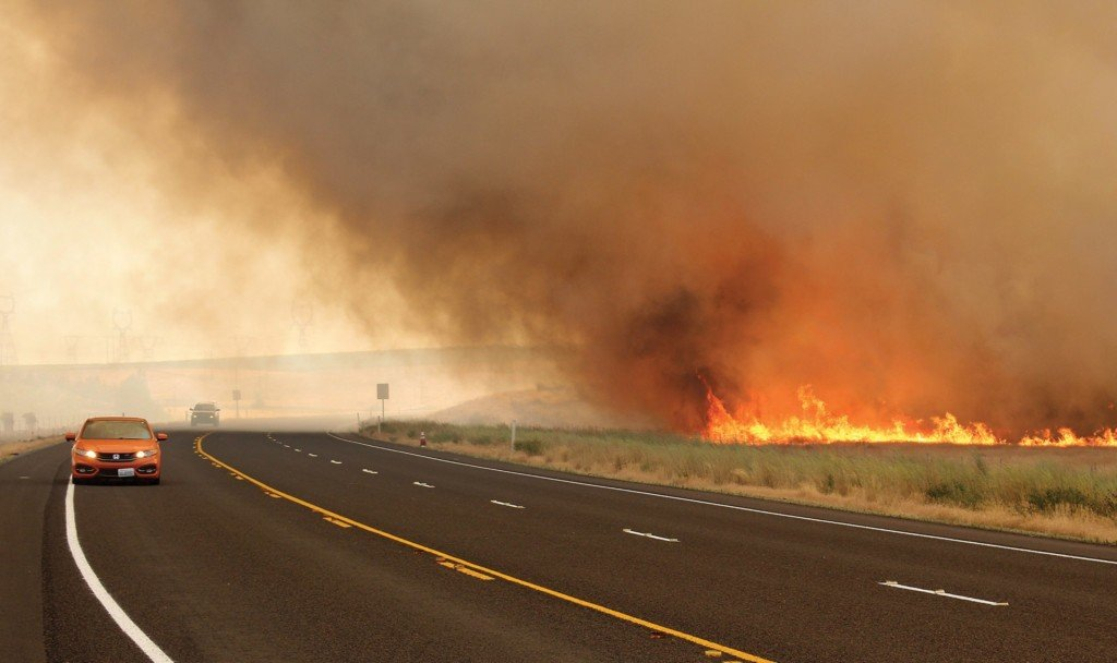 Silver Dollar Fire near Hanford is 85 percent contained
