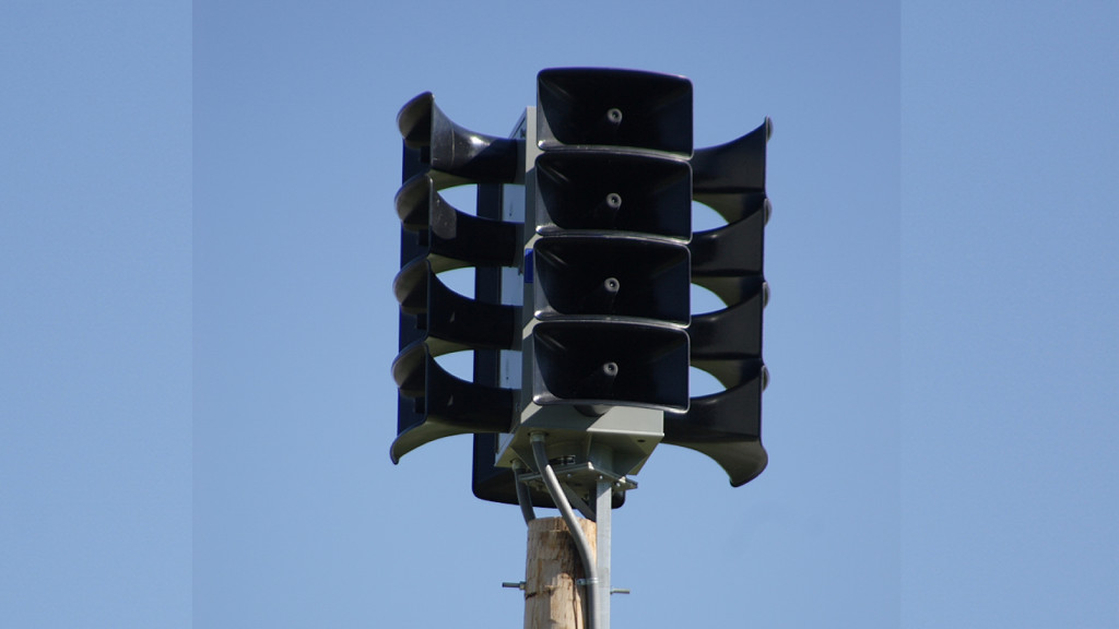 Hanford to activate sirens for emergency drill on Thursday