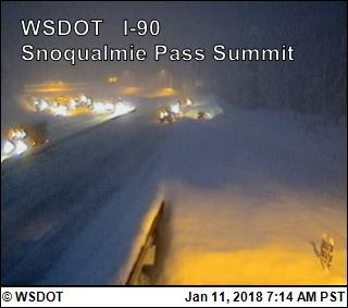 UPDATE: Snoqualmie Pass reopens, chains required in both directions