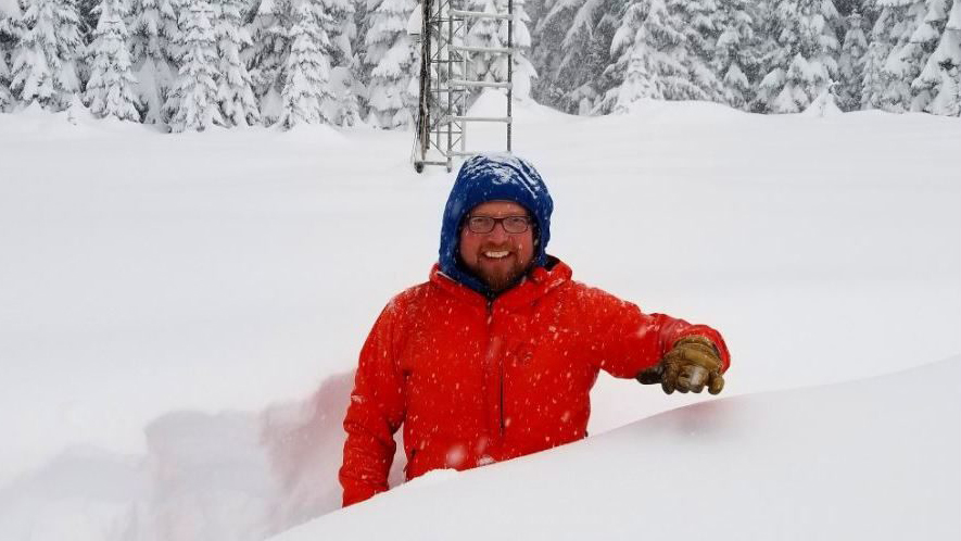 Snoqualmie Pass has received 102 inches of snow this month alone
