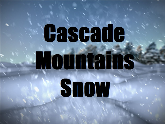 Healthy snowpack in Cascades