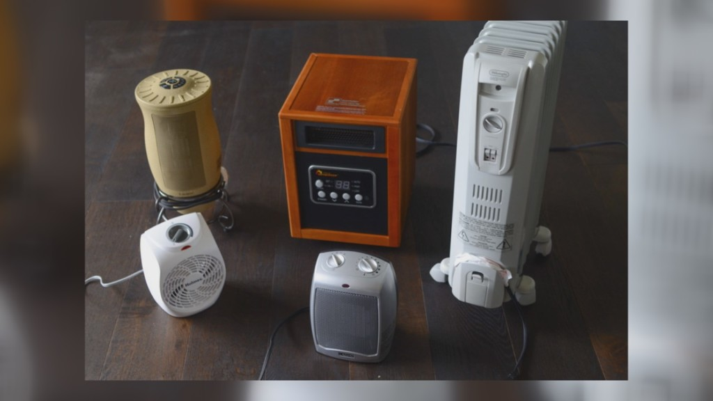 Ways to stay safe while using a space heater during the winter