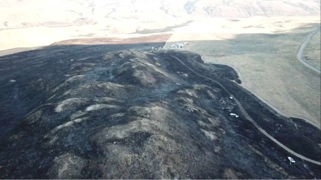 Okanogan firefighter injured in Spring Coulee Fire, airlifted to hospital