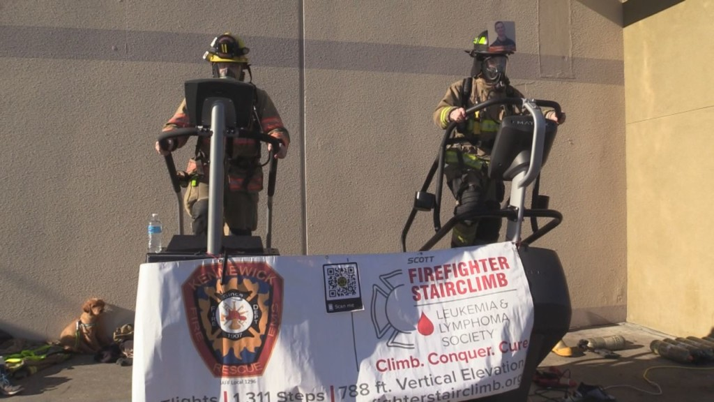 Tri-Cities firefighters leukemia