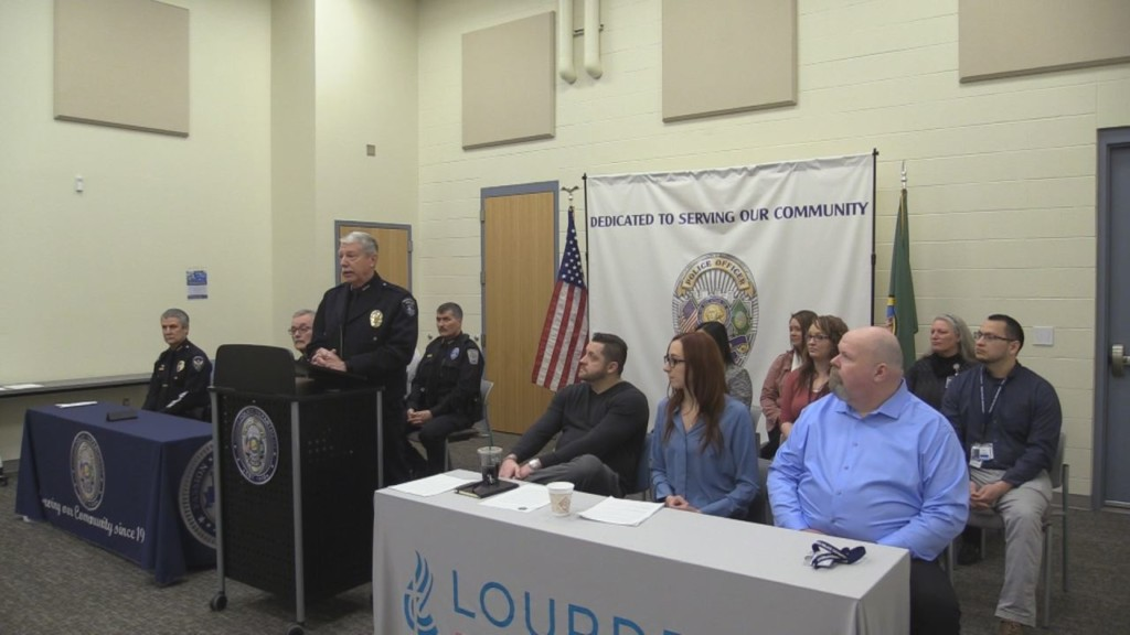 Lourdes Mobile Outreach Team launches at police departments