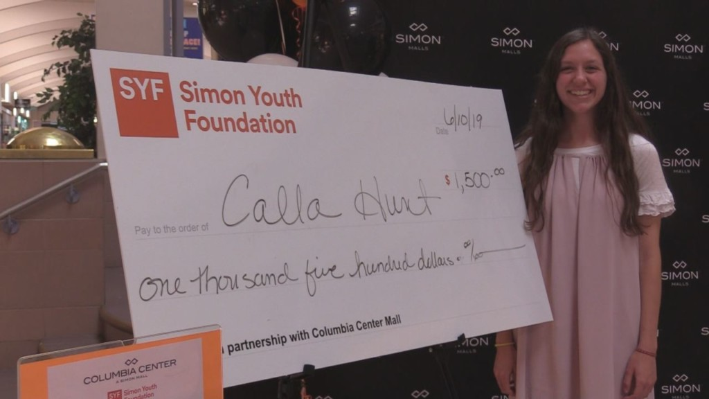 Richland High student receives scholarship from Simon Youth Foundation