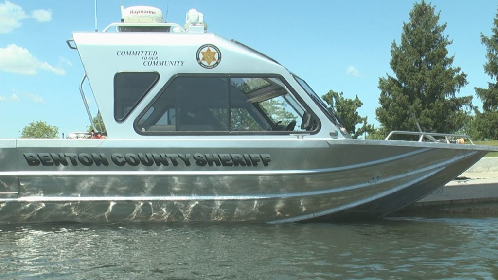 Four local businesses donate hours of time to renovate Benton Co. jet patrol boat
