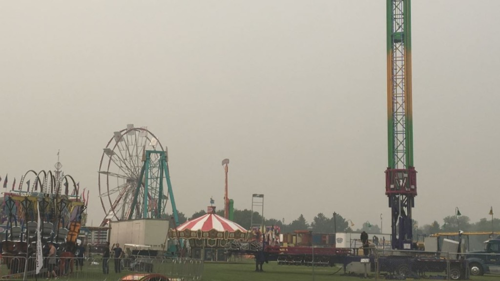 Smoky air won't stop 'the best week of summer' from happening