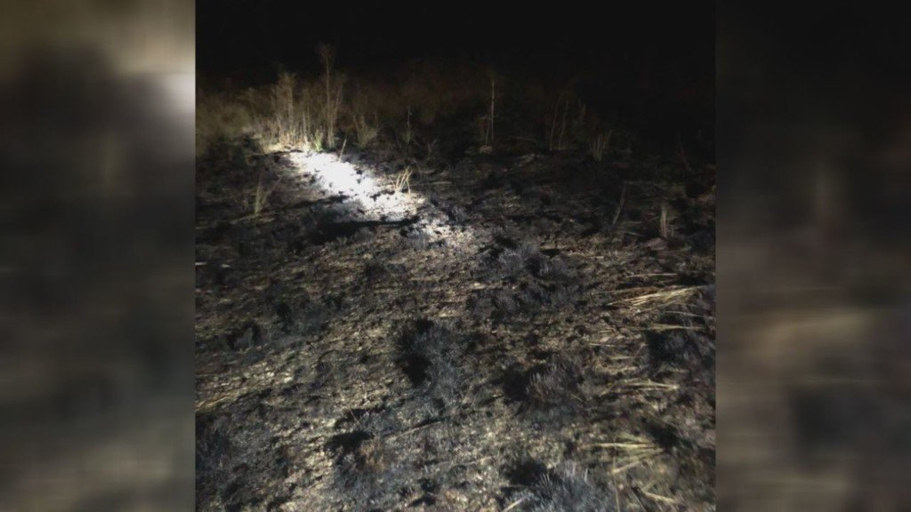 Fires sparked by lightning south of Prosser