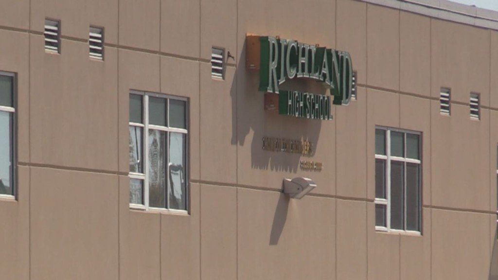 Richland High School broken into twice in less than a week