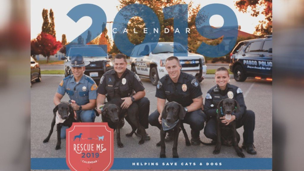 Calendars featuring adoptable animals in the Tri-Cities go on sale Monday