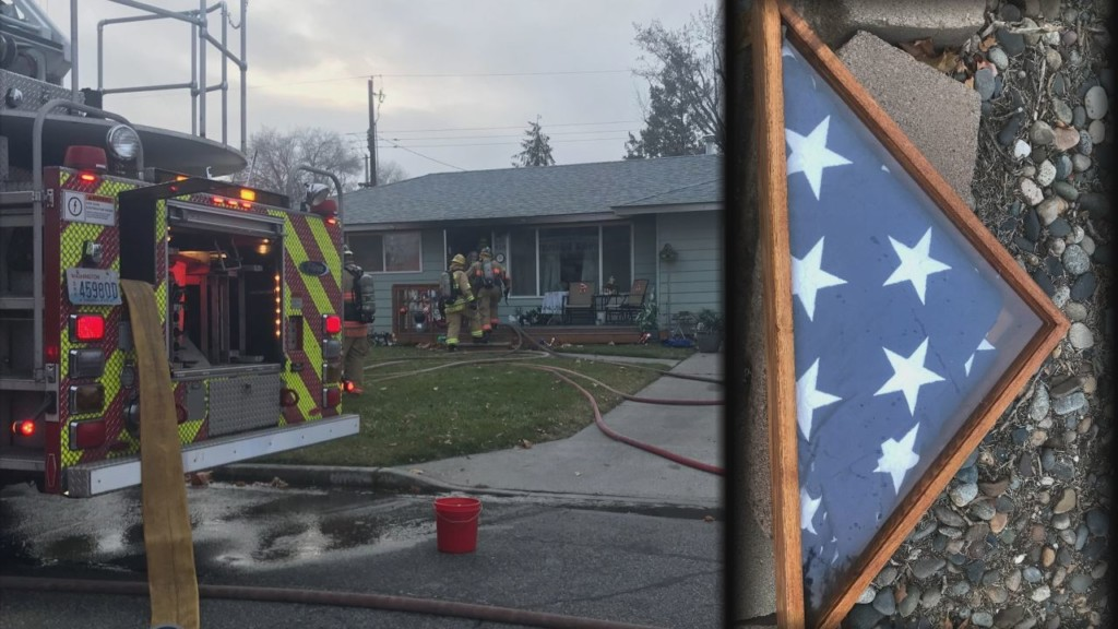 Kennewick house fire sparks after grease fire in kitchen