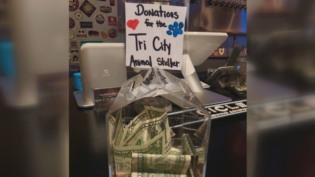 Local taphouse collecting donations for Tri-Cities Animal Shelter in exchange for discount