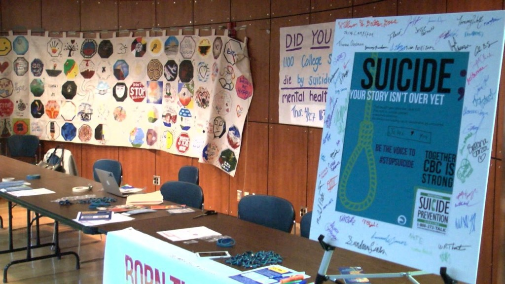 Students host suicide prevention workshop at Columbia Basin College