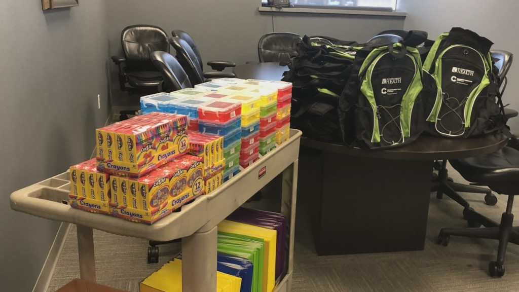 Tri-Cities Community Health giving out free school supplies on Friday
