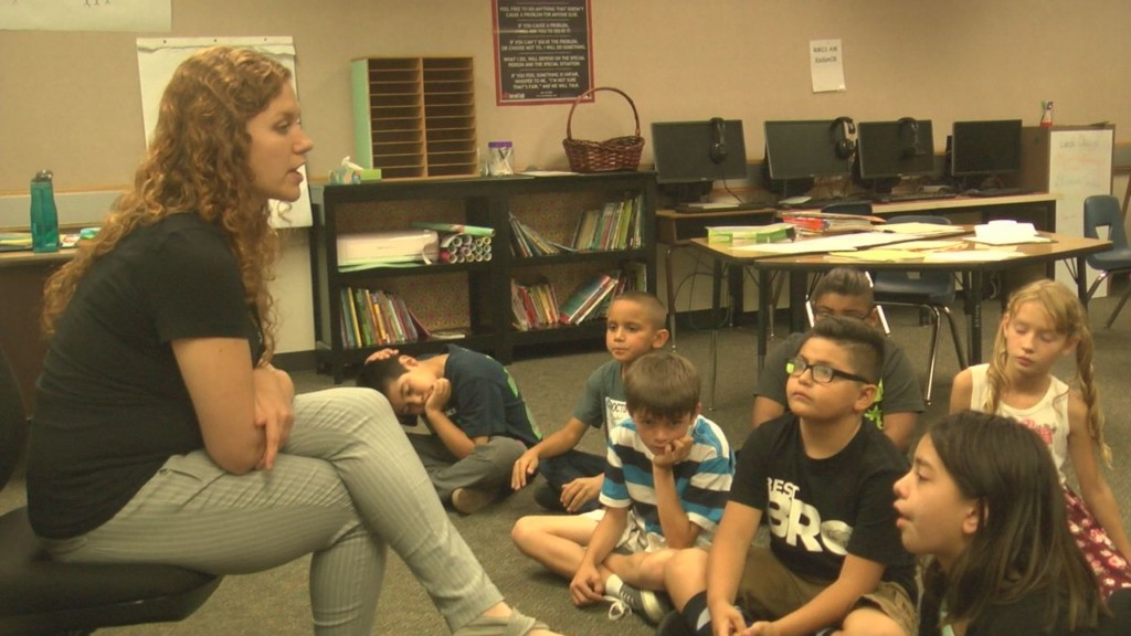 First-year teacher aims to change lives at Amistad Elementary