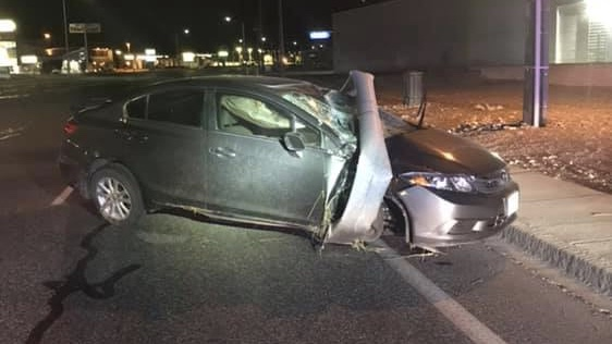 Man arrested in DUI crash off Clearwater