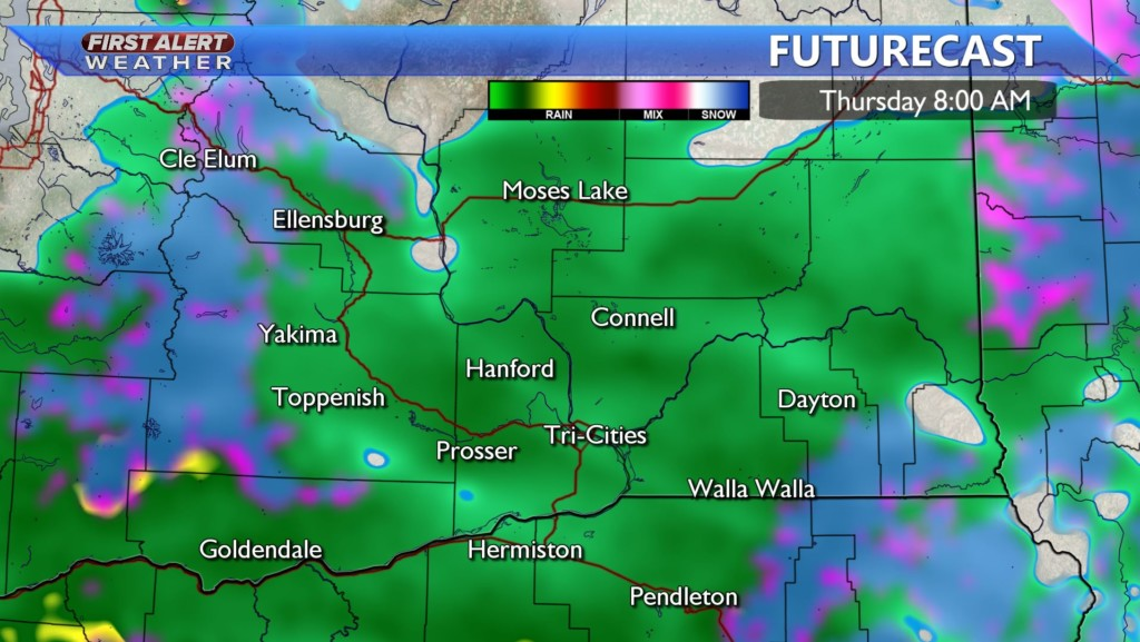 Winter weather arriving mid-week with snow, freezing rain possible ️ -Kristin