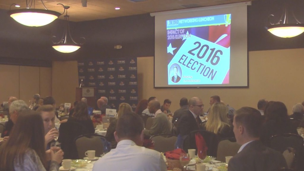 Federal lobbyist speaks at TRIDEC luncheon about 2016 election