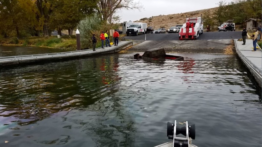 Submerged truck in Columbia River linked to missing Prosser man