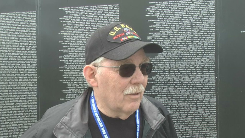 Community shows support for American Veterans Traveling Tribute Wall