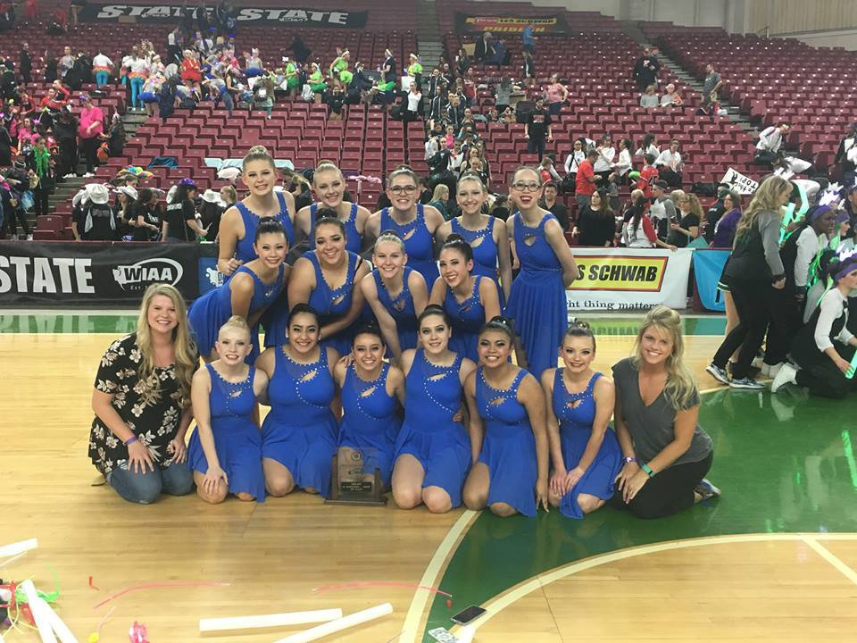 Wa-Hi Dance Team takes 4th in state championship