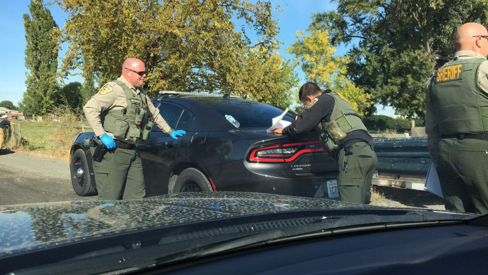 Three-hour standoff in Prosser leads to wanted man's arrest