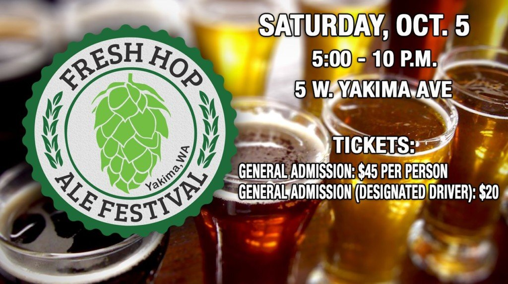 A look at Van Horn Farms as they get ready for the Fresh Hop Ale Festival in Yakima