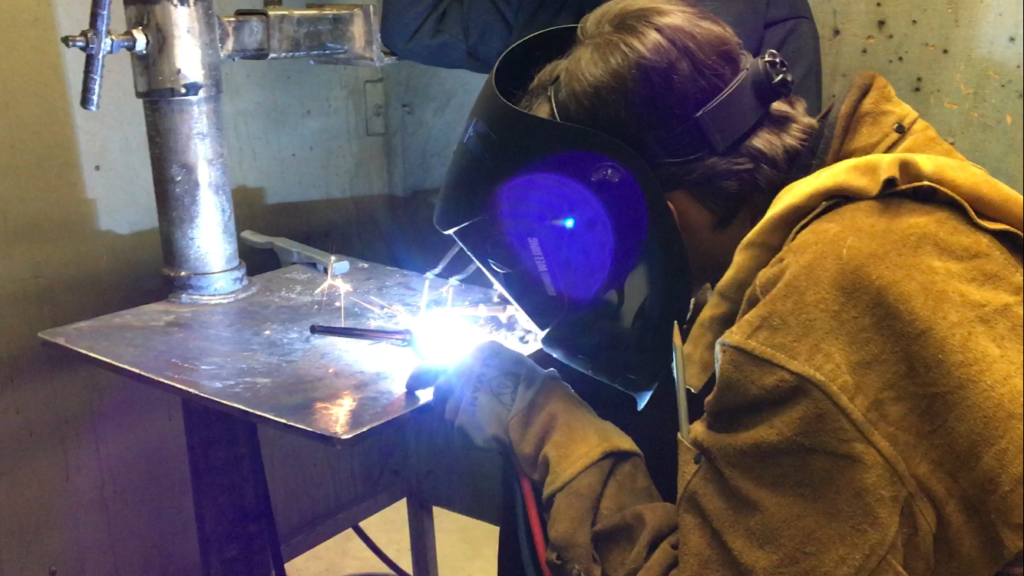 Tri-Tech students compete in Welding Wars