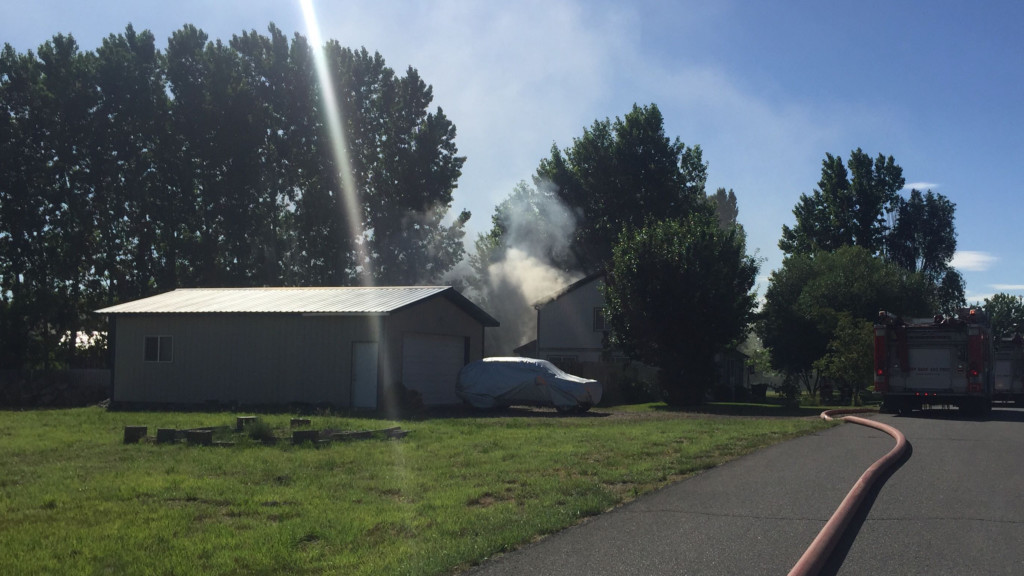 House fire causes significant damage to West Richland home
