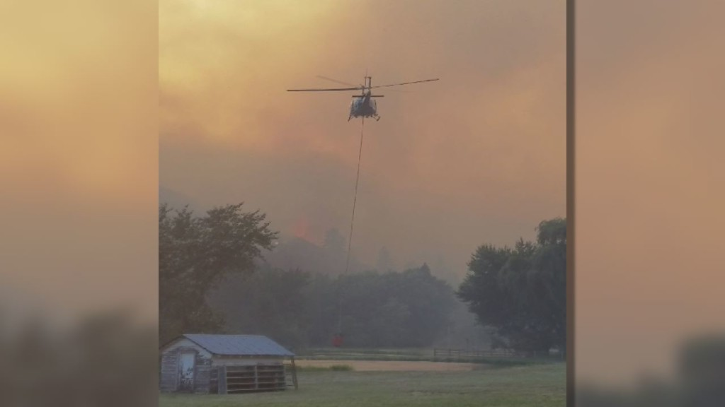 Firefighters urge residents to prepare for wildfires
