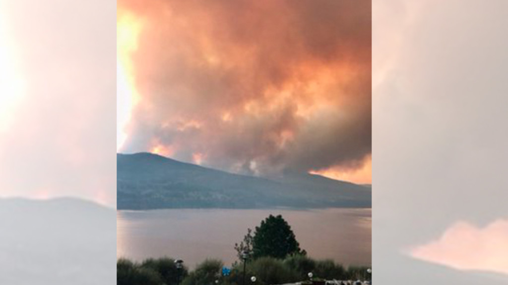 Level 3 evacuations ordered for fire burning on Colville Reservation