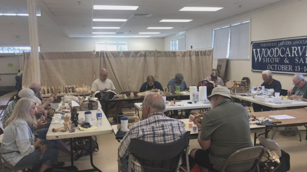 Carving Academy in Ellensburg draws participants from all over the world