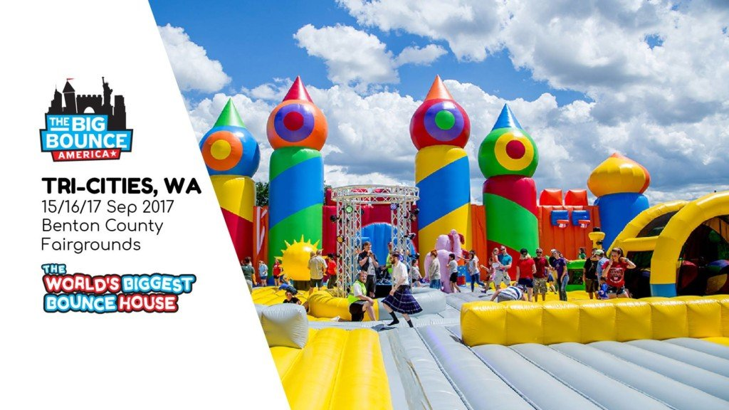World's Biggest Bounce House arriving soon to Tri-Cities