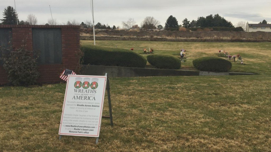 Thousands of wreaths will be laid on the graves of fallen veterans this weekend