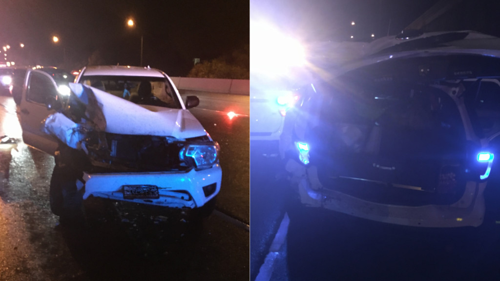 Drunk driver hits two WSP patrol cars, trooper says