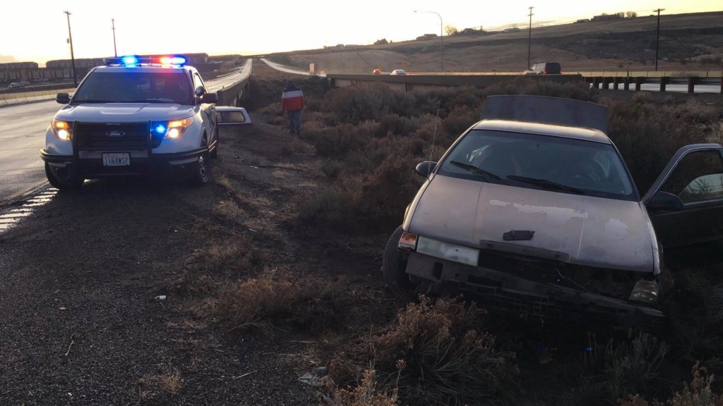 Washington State Patrol responds to 16 crashes in the Tri-Cities Thursday morning