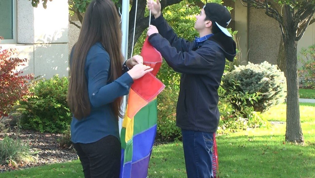 WSU Tri-Cities raises LGBTQ pride flag over campus