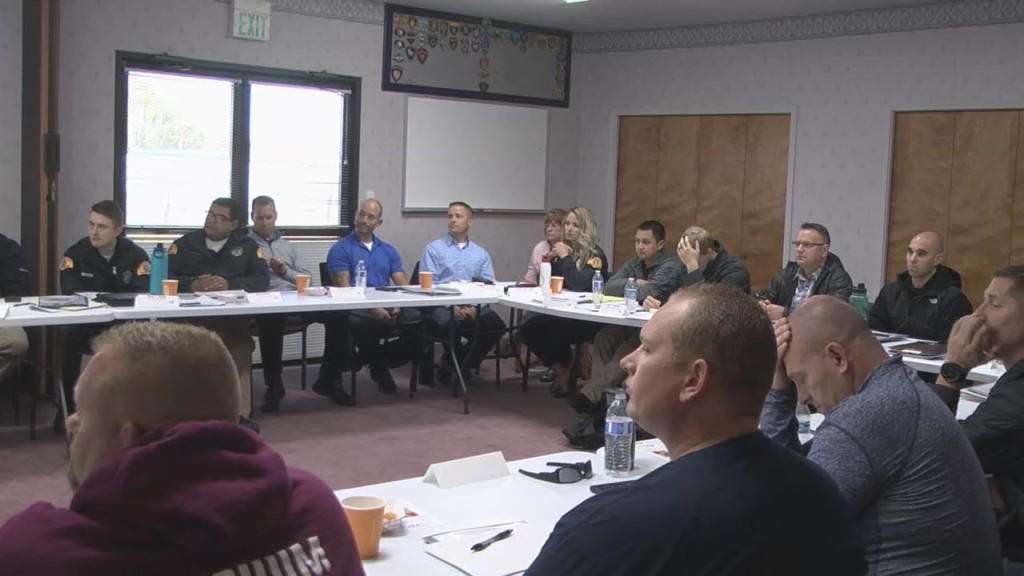 YPD participates in 40-hour crisis intervention training this week