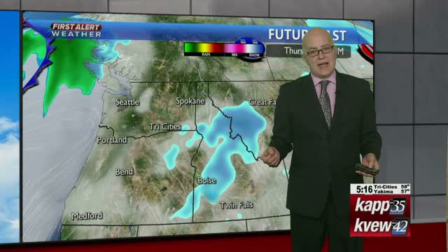 Your Monday evening local forecast - 1/6/20